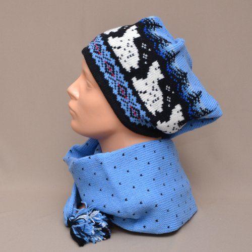 f6e73cc81fb Beautiful bright coloured scarf-hat