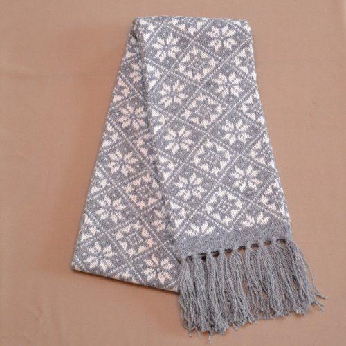 f64d5faef8a Sweater in modest tones with a long zipper - Lõnga Liisu